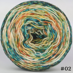 Knitcircus Yarns: Get Knit Done 100g Modernist, Flying Trapeze, choose your cake, ready to ship yarn
