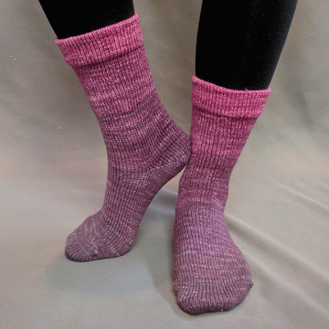 Knitcircus Yarns: La Vie en Rose Chromatic Gradient Matching Socks Set (medium), Greatest of Ease, ready to ship yarn