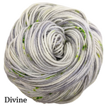 Knitcircus Yarns: Blarney Stone Speckled Handpaint Skeins, dyed to order yarn