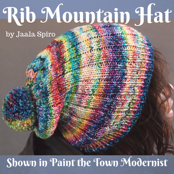 Knitcircus Yarns: Paint the Town Modernist, dyed to order yarn