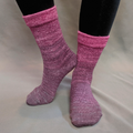 Knitcircus Yarns: La Vie en Rose Chromatic Gradient Matching Socks Set (large), Greatest of Ease, ready to ship yarn