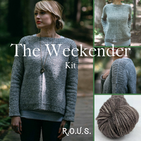 The Weekender Sweater Kit, dyed to order
