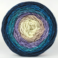 Knitcircus Yarns: Counting Sheep 100g Panoramic Gradient, Divine, ready to ship yarn