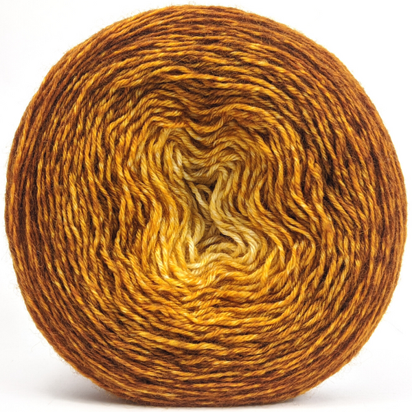 Knitcircus Yarns: Silly Old Bear 150g Chromatic Gradient, Breathtaking BFL, ready to ship yarn