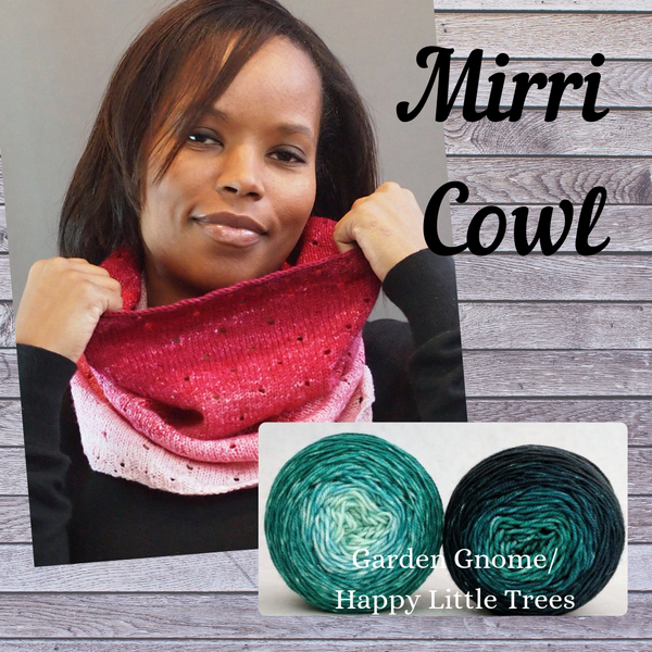 Mirri Cowl Kit, dyed to order