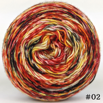 Knitcircus Yarns: Headless Horseman 100g Modernist, Trampoline, choose your cake, ready to ship yarn