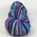 Knitcircus Yarns: Night of a Thousand Stars 100g Handpainted skein, Spectacular, ready to ship yarn