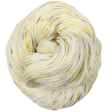 Knitcircus Yarns: Brass and Steam 100g Speckled Handpaint skein, Flying Trapeze, ready to ship yarn
