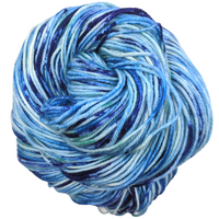 Knitcircus Yarns: Strut Your Stuff 100g Speckled Handpaint skein, Divine, ready to ship yarn