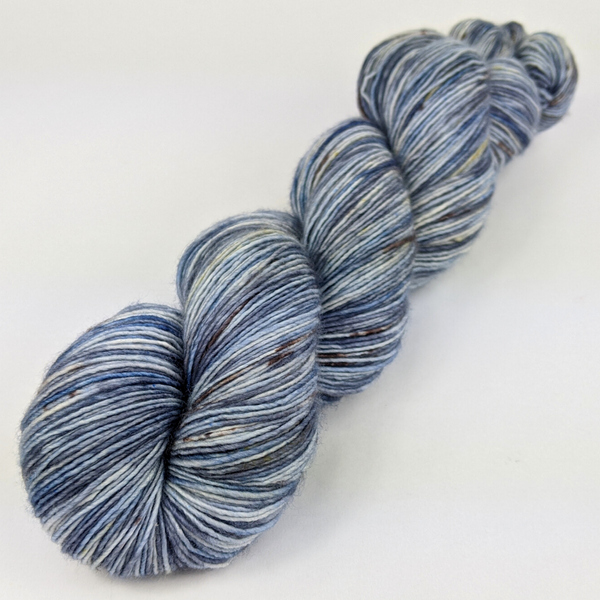 Knitcircus Yarns: The Beacons Are Lit 100g Speckled Handpaint skein, Spectacular, ready to ship yarn