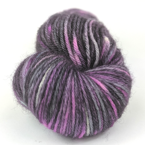 Galaxy Far Far Away 100g Handpainted skein, Breathtaking BFL, ready to ship
