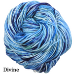 Knitcircus Yarns: Strut Your Stuff Speckled Handpaint Skeins, dyed to order yarn