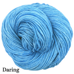 Knitcircus Yarns: Clear Skies Ahead Kettle-Dyed Semi-Solid skeins, dyed to order yarn