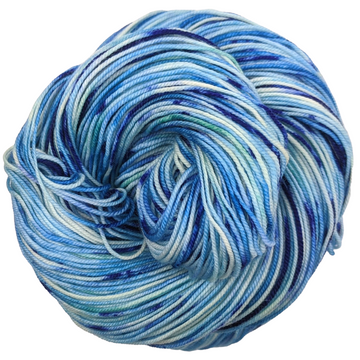 Knitcircus Yarns: Strut Your Stuff 100g Speckled Handpaint skein, Trampoline, ready to ship yarn