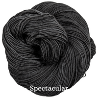 Knitcircus Yarns: Quoth the Raven Kettle-Dyed Semi-Solid skeins, dyed to order yarn