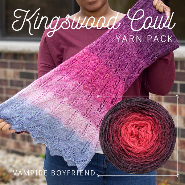 Kingswood Cowl Yarn Pack, pattern not included, ready to ship
