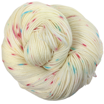 Knitcircus Yarns: Imaginary Best Friend 100g Speckled Handpaint skein, Flying Trapeze, ready to ship yarn - SALE