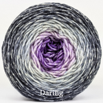 Knitcircus Yarns: Joie de Vivre Panoramic Gradient, dyed to order yarn