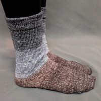 Knitcircus Yarns: Have Fun Storming the Castle Panoramic Gradient Matching Socks Set, dyed to order yarn