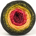 Knitcircus Yarns: Unbeleafable 100g Panoramic Gradient, Divine, ready to ship yarn