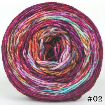 Knitcircus Yarns: Backyard Bouquet 100g Modernist, Divine, choose your cake, ready to ship yarn