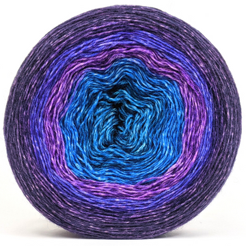 Knitcircus Yarns: The Knit Sky Monster 300g Panoramic Gradient, Breathtaking BFL, ready to ship yarn