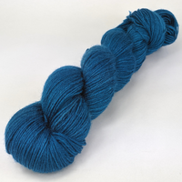 Knitcircus Yarns: Fly Me To The Moon 100g Kettle-Dyed Semi-Solid skein, Breathtaking BFL, ready to ship yarn