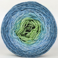 Knitcircus Yarns: Beach Glass 100g Panoramic Gradient, Sparkle, ready to ship yarn
