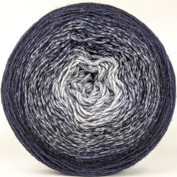 Knitcircus Yarns: Mithrandir 150g Panoramic Gradient, Breathtaking BFL, ready to ship yarn