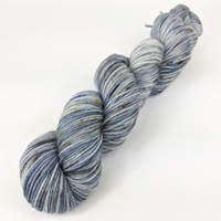 Knitcircus Yarns: The Beacons Are Lit 100g Speckled Handpaint skein, Divine, ready to ship yarn