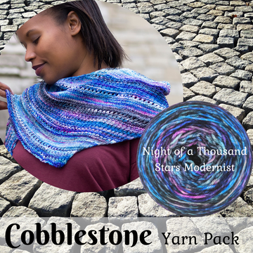 Cobblestone Yarn Pack, pattern not included, dyed to order