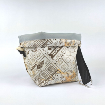 Snap Convertible Drawstring Project Bags by Chasing Acorns, three sizes, ready to ship - SALE