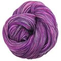 Knitcircus Yarns: The Violet Hour 100g Handpainted skein, Flying Trapeze, ready to ship yarn