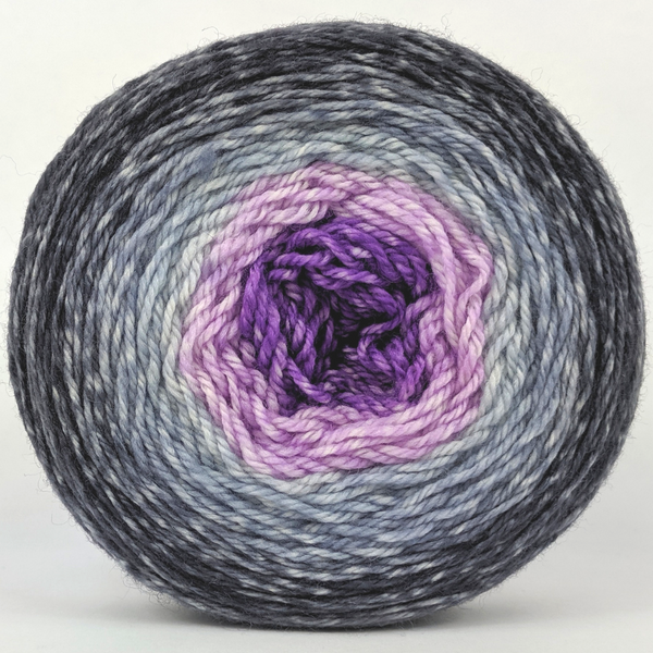 Knitcircus Yarns: Joie de Vivre 100g Panoramic Gradient, Flying Trapeze, ready to ship yarn