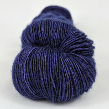 Knitcircus Yarns: Midnight Moon 100g Kettle-Dyed Semi-Solid skein, Spectacular, ready to ship yarn
