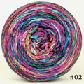 Knitcircus Yarns: Paint the Town 100g Modernist, Parasol, choose your cake, ready to ship yarn