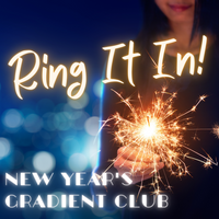 New Year's Club 2021 - Ring It In Gradient - 1 Package