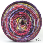 Knitcircus Yarns: Simply Splendid 100g Modernist, Flying Trapeze, choose your cake, ready to ship yarn
