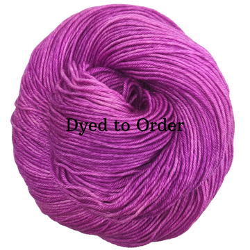 Knitcircus Yarns: Fan Girl Kettle-Dyed Semi-Solid skeins, dyed to order yarn