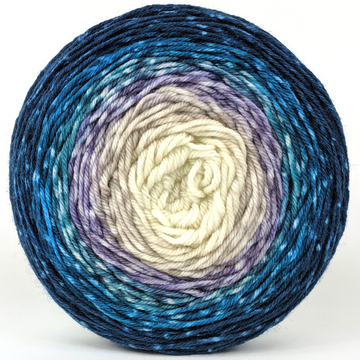 Knitcircus Yarns: Counting Sheep 100g Panoramic Gradient, Greatest of Ease, ready to ship yarn