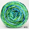 Knitcircus Yarns: Siren Song 100g Modernist, Ringmaster, choose your cake, ready to ship yarn
