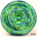 Knitcircus Yarns: Siren Song 100g Modernist, Trampoline, choose your cake, ready to ship yarn