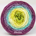 Knitcircus Yarns: Twitterpated Panoramic Gradient, dyed to order yarn