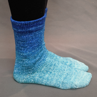Knitcircus Yarns: Peace, Love, and Understanding Panoramic Gradient Matching Socks Set, dyed to order yarn
