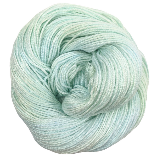 Knitcircus Yarns: Plenty Of Fish 100g Kettle-Dyed Semi-Solid skein, Parasol, ready to ship yarn