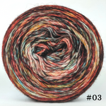 Knitcircus Yarns: Harvest Moon 100g Modernist, Breathtaking BFL, choose your cake, ready to ship yarn