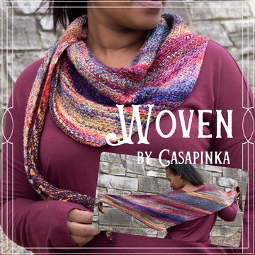 Woven Shawl Yarn Pack, pattern not included, ready to ship