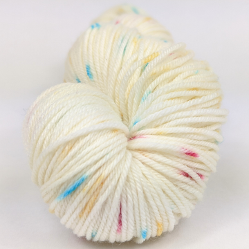 Knitcircus Yarns: Imaginary Best Friend 100g Speckled Handpaint skein, Greatest of Ease, ready to ship yarn - SALE