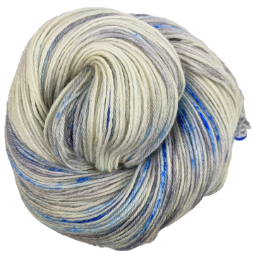 Knitcircus Yarns: Fishing in Quebec 100g Speckled Handpaint skein, Breathtaking BFL, ready to ship yarn