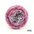 Knitcircus Yarns: Femme Fatale 50g Impressionist Gradient, Breathtaking BFL, choose your cake, ready to ship yarn